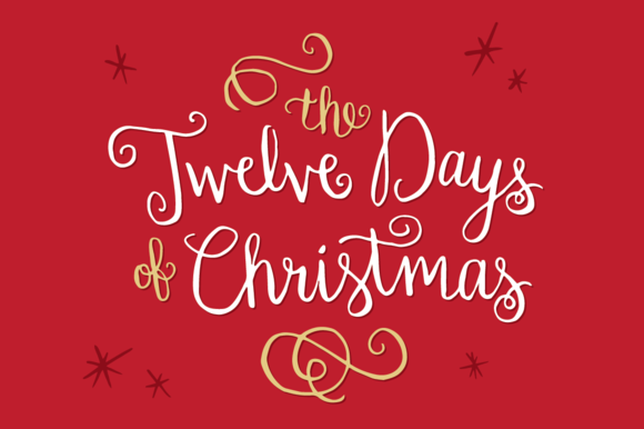 Let the Christmas Countdown Begin!