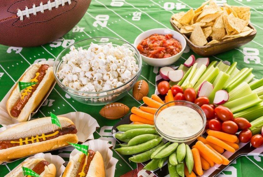 Top Ten Super Bowl Foods