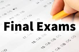 Top Five Final Exam Tips
