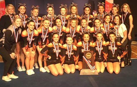 CLC Cheer Places 2nd at State
