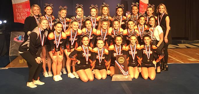 CLC+Cheer+Places+2nd+at+State